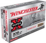 Ammunition-308Win Super-X Power Point 180grain