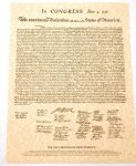 The Declaration of Independence Document