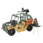 Soldier Force Desert Mole Jeep och figur