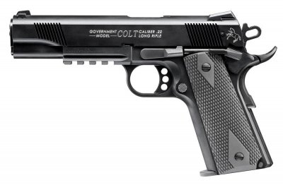 Colt Government 1911 22 l.r. Rail gun