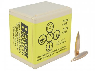 "Berger Tactical 338 (.338"") 300 grain"