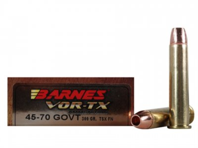 Barnes VOR-TX Ammunition 45-70 Government 300 Grain Triple-Shock X