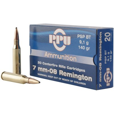 Partizan 7mm-08 Remington PSP BT 140 grain