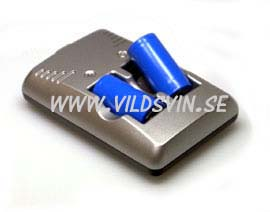 3,7 Volt CR123A batterier med laddare