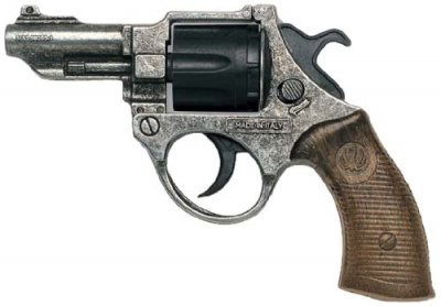 Edison FBI Federal Antic revolver 8 skott
