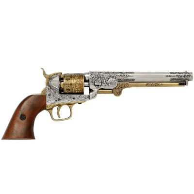 Vacker replika av Colt Navy 1851
