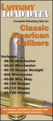 Lyman's Load Data book, Classic American Calibers