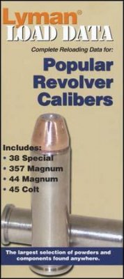 Lyman's Load Data book, Popular Revolver Calibers