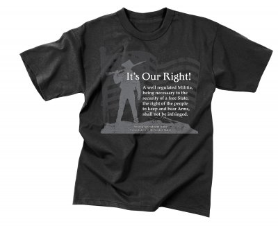 T-shirt - It´s Our Right