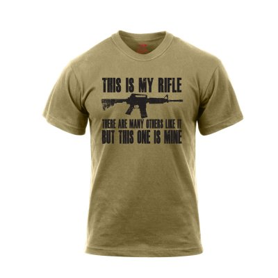 T-shirt - This Is My Rifle