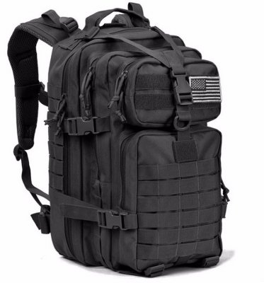 34L Molle Tactical Backpack Double Shoulder