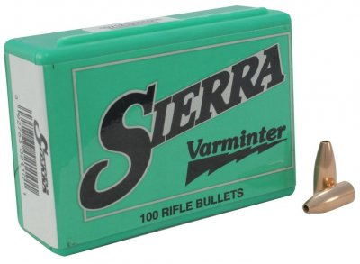 "Sierra Varminter 30 (.308"") HP 110 grain"